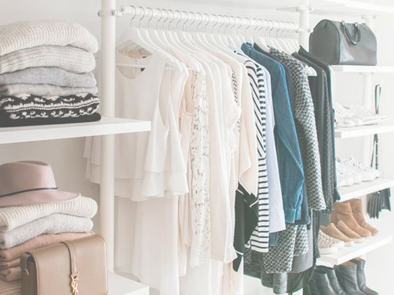 4 closet cleaning